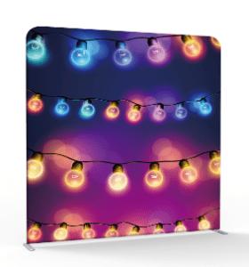 Multicolor lantern 3d backdrop