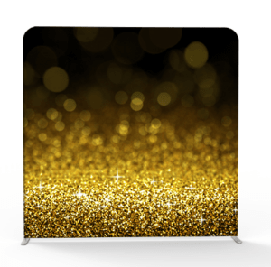 Gold flakes 3d backdrop