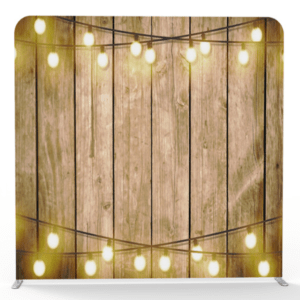 wood lanterns 3d backdrop